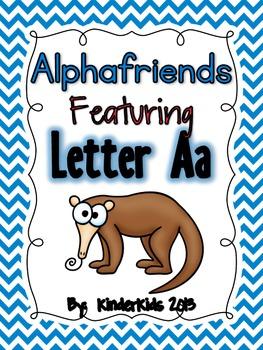 Alphafriends Featuring Letter Aa