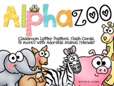 Alphazoo:  Alphabet Posters, Flash Cards, & More!
