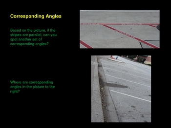 Alternate and Corresponding Angles