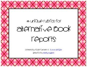 Rubric Pack: Alternative Book Reports