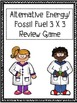 Alternative Energy and Fossil Fuel 3x3 Review game