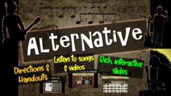 Alternative: comprehensive & engaging Music History PPT (l