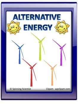 Alternative energy lessons and vocabulary cards