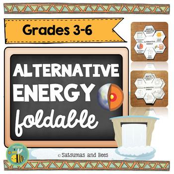 Alternative energy resources-Interactive Science Notebook