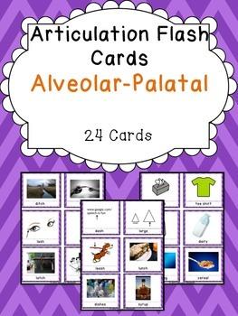 Apraxia & Articulation Cards Alveolar-Palatal