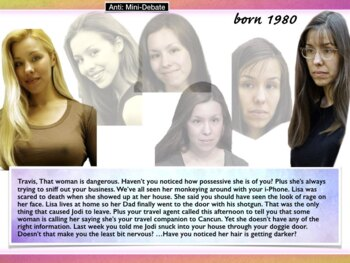 Jodi Arias ~ Travis Alexander ~ Murder Trial ~ Abuse Defen