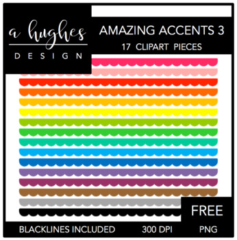 FREE Amazing Accents #3 {Graphics for Commercial Use}