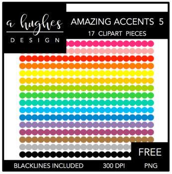 FREE Amazing Accents #5 {Graphics for Commercial Use}