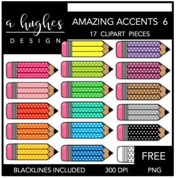 FREE Amazing Accents #6 {Graphics for Commercial Use}