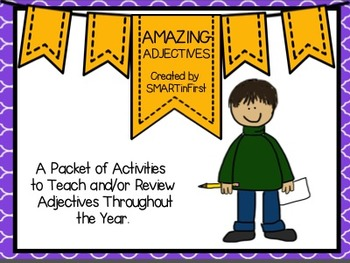 Amazing Adjectives Packet