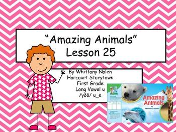 Amazing Animals Storytown Lesson 25