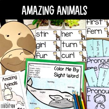 Amazing Animals Supplement Activities Journeys 1st Grade L