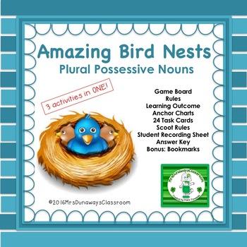 Amazing Bird Nests: Plural Possessive Nouns