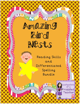 Amazing Bird Nests Reading and Spelling Bundle (Scott Fore