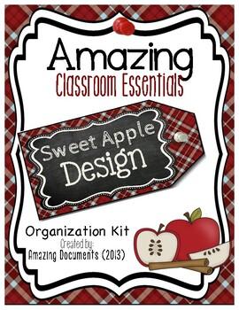 Amazing Classroom Essentials: Sweet Polka Dot Apple Design