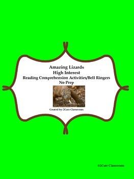 Non-fiction High Interest Reading Comprehension/Bellringer