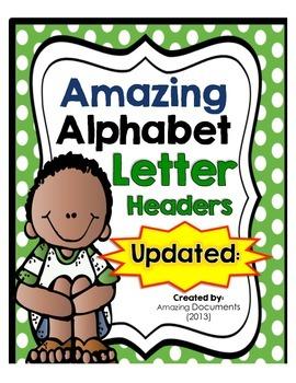 Amazing Polka Dot - Alphabet Letters - {FREEBIE}