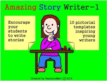Amazing Story Writer - 1: Teach Creative Writing Skills Te