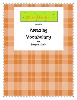 Amazing Vocabulary - Penguin Chick