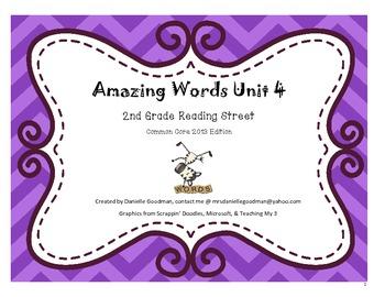 Amazing Words Reading Street 2013 Grade 2, Unit 4