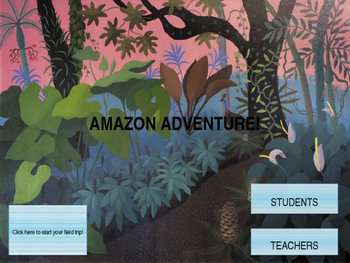 Amazon Rainforest Virtual Field Trip