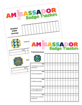Ambassador Girl Scout Troop Badge Requirement Tracker [PDF]