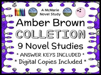 Amber Brown Collection (Paula Danziger) 9 Novel Studies /