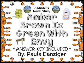 Amber Brown Is Green With Envy (Paula Danziger) Novel Stud