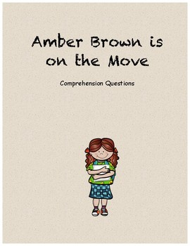 Amber Brown is on the move comprehension questions