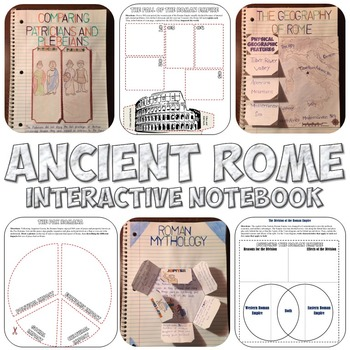 Ancient Rome Interactive Notebook Set
