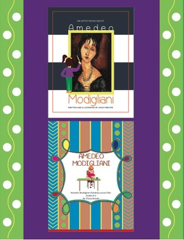 Amedeo Modigliani Portrait Painting Lesson Plan and Artist Book