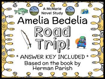 Amelia Bedelia Road Trip! (Herman Parish) Novel Study / Re
