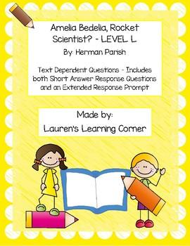 Amelia Bedelia, Rocket Scientist? - Level L - Text Depende
