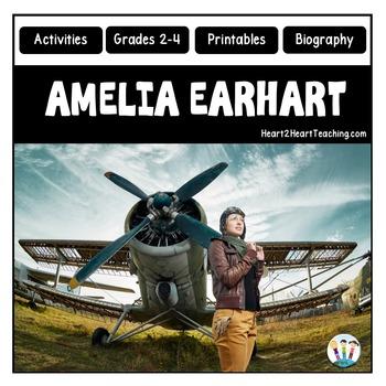 Amelia Earhart Biography & Activity Pack