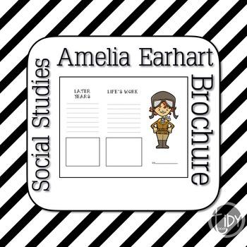 Amelia Earhart Brochure