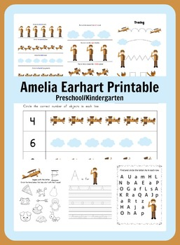 Amelia Earhart Learning Packet