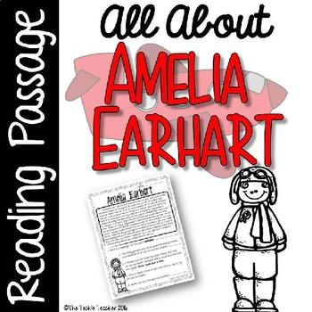 Amelia Earhart Reading Passage