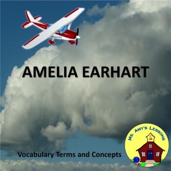 Amelia EarhartPowerPoint presentation.  A short synopsis o