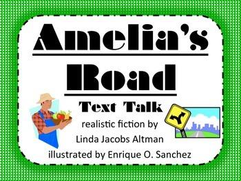 Amelia's Road Text Talk Supplemental Materials