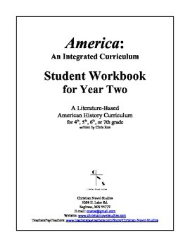 America: An Integrated Curriculum, Year 2, Part IV, Weeks