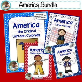 America Bundle: Practice Non-Fiction Reading passages and