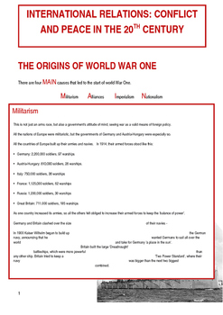 America, Europe and the Cold War Study Guide