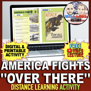 """The U.S. in WWI: America Fights """"Over There"""" Gallery Walk"""