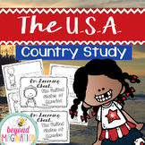 The U.S.A. Country Study | 48 Pages for Differentiated Lea