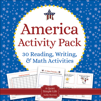 America Literacy and Math for Kindergarten and First Grade