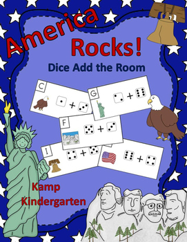 America Rocks Dice Add the Room Sums to 10