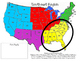 America, The Beautiful! All about the Five Region of the U