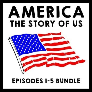 America The Story of Us Episodes 1-5 Bundle