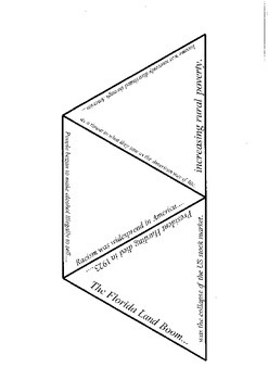 America between the wars 1918-1939 game/activity/tarsia