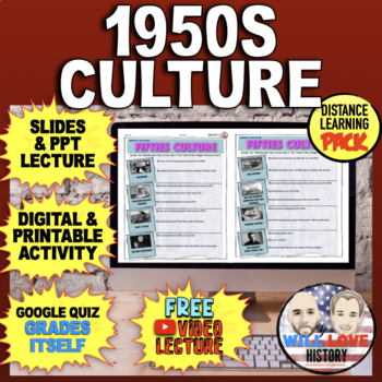 America in the 1950's: Fifties Culture Bundle